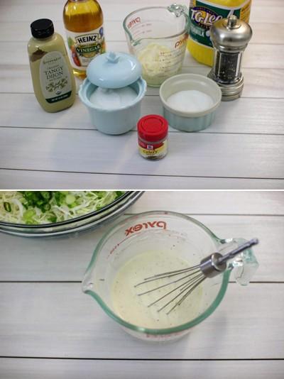 Làm salad bắp cải dễ dàng