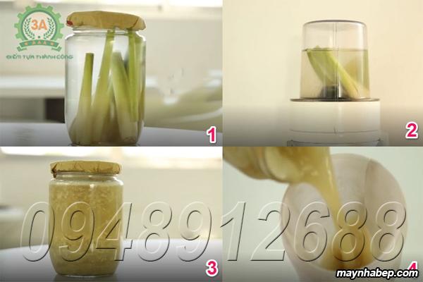 Hướng dẫn cách làm tinh dầu sả đuổi muỗi tại nhà