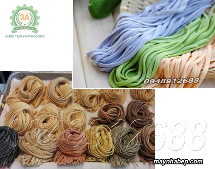 Sản phẩm được làm từ máy ép mỳ sợi