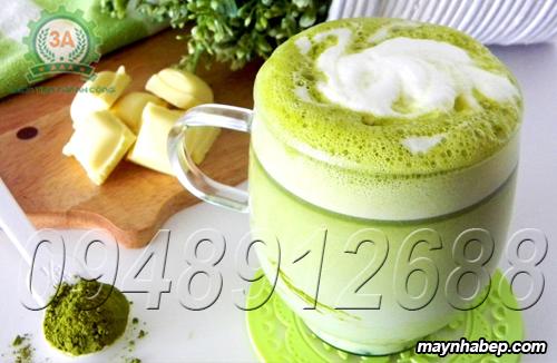 Sinh tố trà xanh mang đập phong cách Nhật