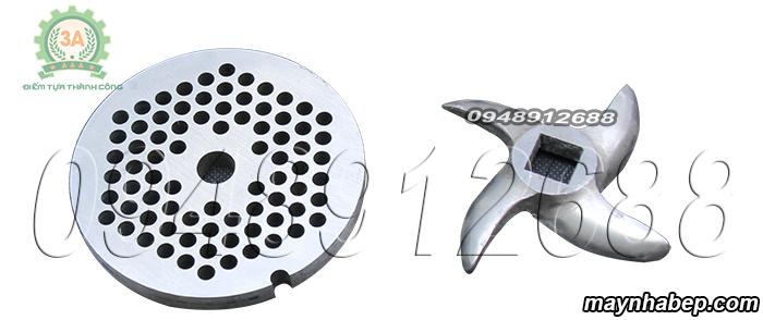 Dao xay và mặt sàng Máy xay thịt đa năng inox 3A GT2,2KW