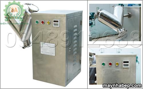 Máy trộn bột khô thảo dược V3A