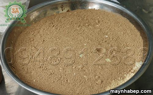 Nguyên liệu đầu vào Máy trộn bột ướt thảo dược 3A