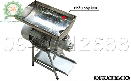 Khay chứa nguyên liệu của Máy làm bơ lạc, vừng 3A3KW
