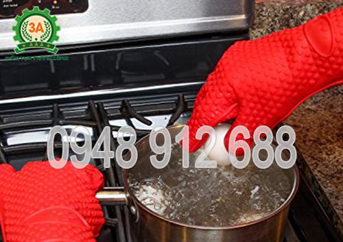 Bao tay cách nhiệt, găng tay làm bếp 3A