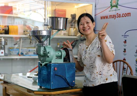 Bán máy nghiền bột nước, mua máy xay bột gạo nước 3A