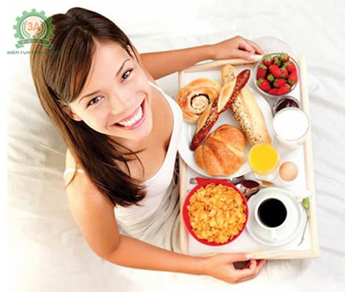 Một bữa ăn sáng thích hợp giúp tinh thần thoải mái