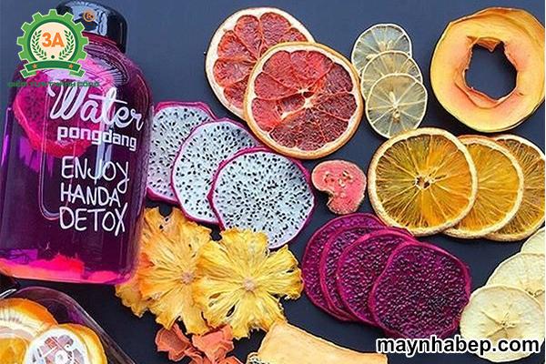 Kinh doanh detox trái cây tươi