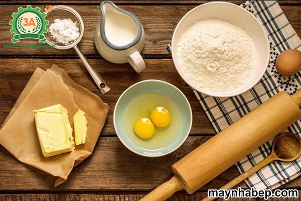 Cách pha bột làm bánh tai yế