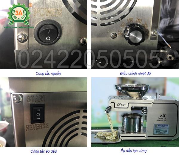 Cách sử dụng máy ép dầu thực vật